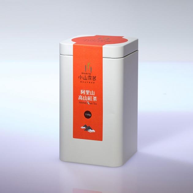 阿里山紅茶 鐵罐 1